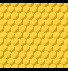 Honeycomb Beehive Seamless Pattern vector image