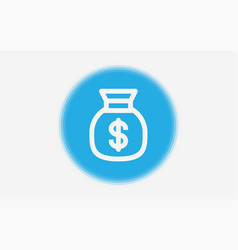 money icon sign symbol vector image