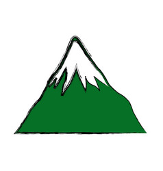 Mount fuji japan landscape natural image vector