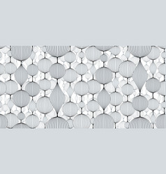 Seamless abstract wallpaper pattern garlands of vector
