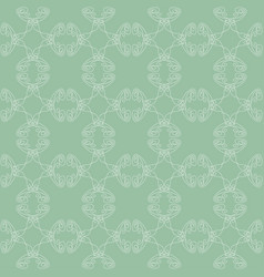 seamless abstract vintage light pattern vector image vector image