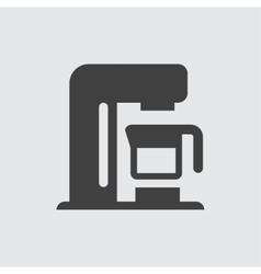 Coffee machine icon vector image vector image