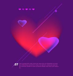 love poster vintage cinema promotional printing vector image vector image