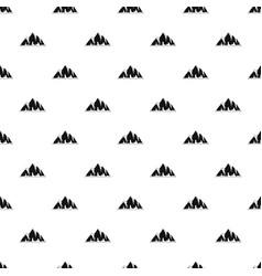 Alp pattern seamless vector