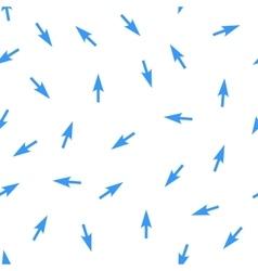 Arrows Seamless Flat Pattern vector image