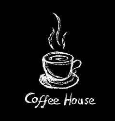 Coffee house vector image
