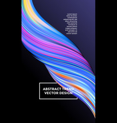 Color paint background abstract gradient vector