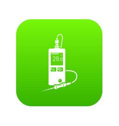Digital tonometer icon simple style vector