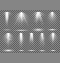 floodlight light spotlight stage beam spot lamp vector image