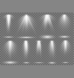 Floodlight light spotlight stage beam spot lamp vector