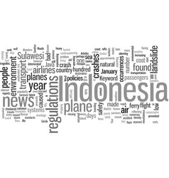 Indonesia news vector