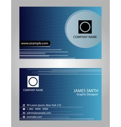 Name card - Card visit vector