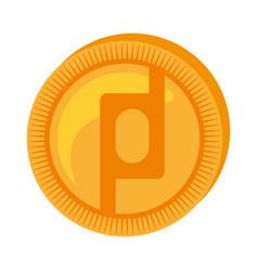 Protoshare money golden coin vector