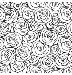seamless natural pattern vector image