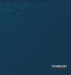 abstract matrix digital background vector image