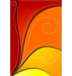 Abstract red background for design vector