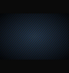 dark abstract background blue and gray striped vector image