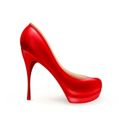Ladies shoe vector