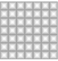 seamless halftone background vector image