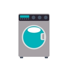 Washer supply house electric appliance icon vector