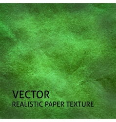 Green paper background vector image
