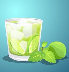 Lemon juice vector