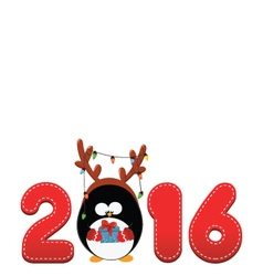2016 penguin vector image vector image