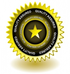 award gold icon vector image
