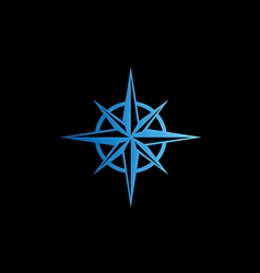 North star abstract logo vector