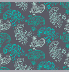seamless pattern with ornamental elements of vector image