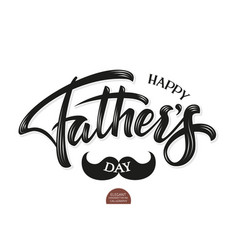 volumetric happy fathers day elegant modern vector image