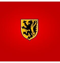 heraldic symbol vector image vector image