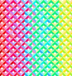 Rainbow Geometric Pattern vector image vector image