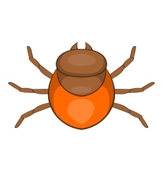 Tick icon cartoon style vector image