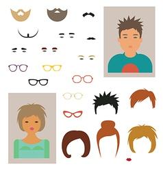Character designer vector image