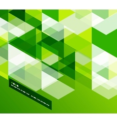 Modern geometrical abstract template vector image vector image