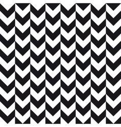alternate chevron background black white vector image vector image