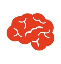brain organ human isolated icon vector image