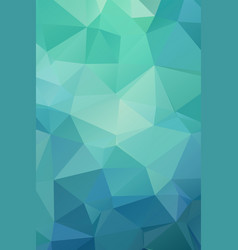 abstract bright green geometric background vector image