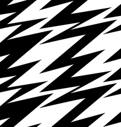Black and white abstract lightning seamless vector