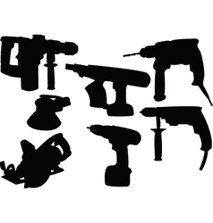 collection tools vector image