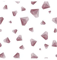 diamond simple seamless pattern background vector image