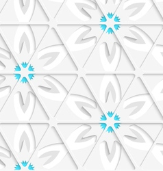 Floral with net seamless vector image