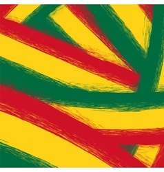 Grunge Yellow Red Green Background vector