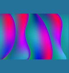 hdr colorful geometric background fluid shapes vector image