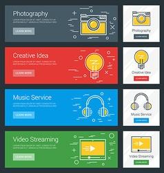 Photography Creative Idea Music Service Video vector
