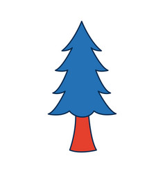 Pine tree plant national forest nature switzerland vector