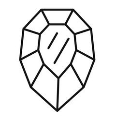 Purity jewel icon outline style vector