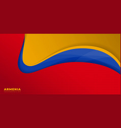 Red yellow and blue abstract background vector
