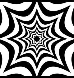 Spiky shapes background alternating spreading vector
